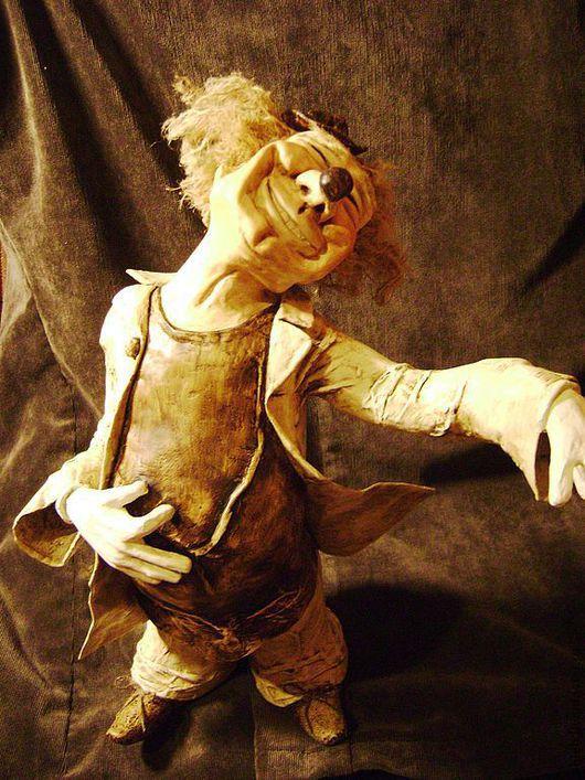 """Коллекционные куклы ручной работы. Ярмарка Мастеров - ручная работа. Купить Кукла """"Клоун"""". Handmade. Оригинальный подарок, кукла"""