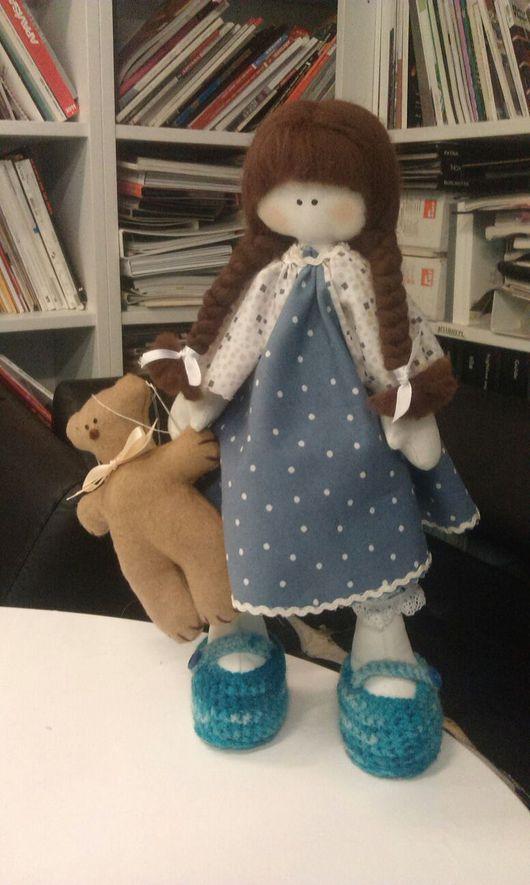 Куклы тыквоголовки ручной работы. Ярмарка Мастеров - ручная работа. Купить Кукла тыквоголовка Танечка. Handmade. Кукла тыквоголовка