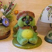 Куклы и игрушки ручной работы. Ярмарка Мастеров - ручная работа войлочная Груня Вислоухова. Handmade.