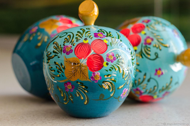 Шкатулка яблоко, Шкатулки, Нижний Новгород, Фото №1