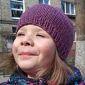 Работы для детей, ручной работы. Ярмарка Мастеров - ручная работа Шапка для девочки Виноград. Handmade.