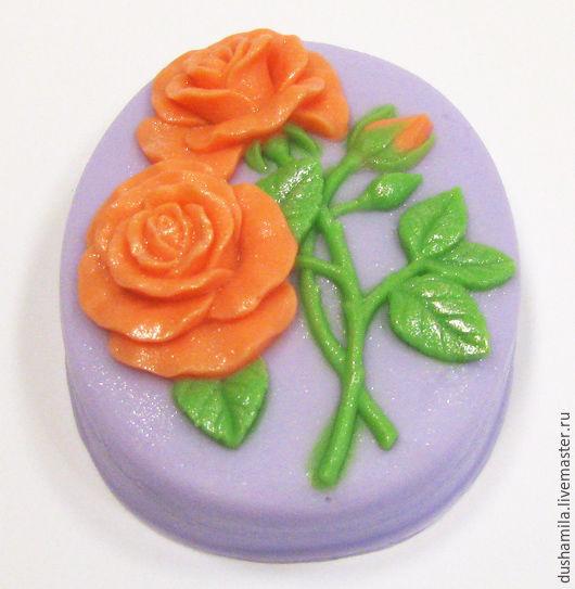 Мыло ручной работы. Ярмарка Мастеров - ручная работа. Купить Мыло Букетик из роз. Handmade. Голубой, мыло сувенирное