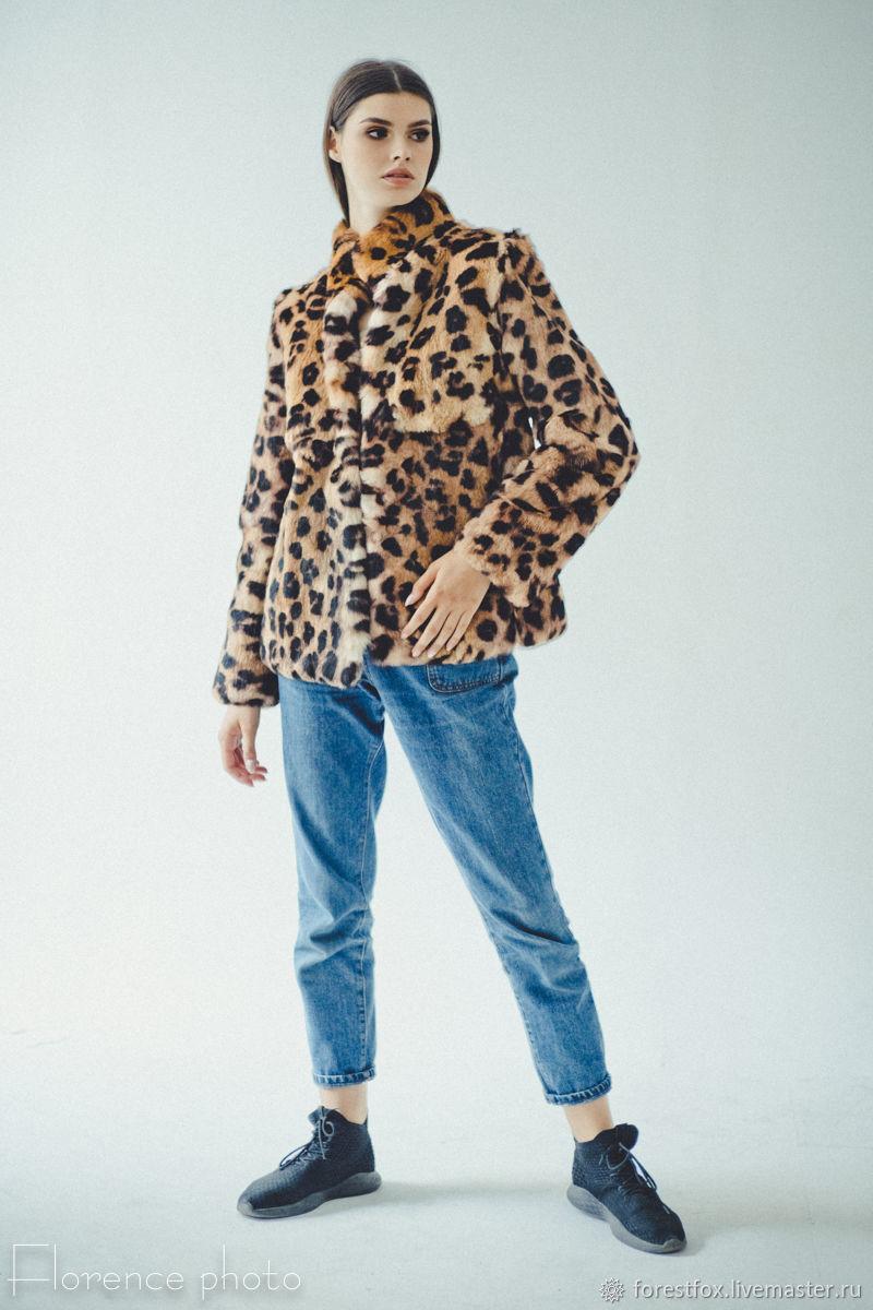 Rabbit Fur Jacket - Women Winter Coat, Fur Coats, Moscow,  Фото №1