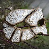 """Одежда ручной работы. Ярмарка Мастеров - ручная работа Карнавальная маска """"Crackle"""". Handmade."""