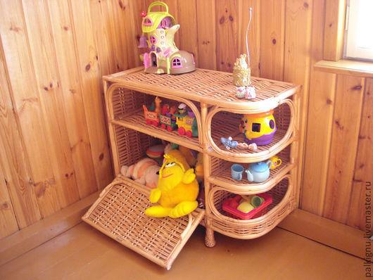 Мебель ручной работы. Ярмарка Мастеров - ручная работа. Купить Комод плетеный. Handmade. Ивовая лоза, плетеный комод