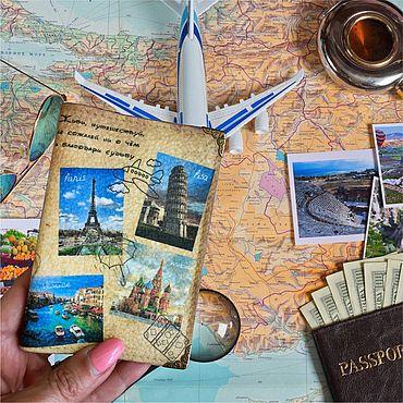 Stationery handmade. Livemaster - original item cover: Live, travel. Handmade.