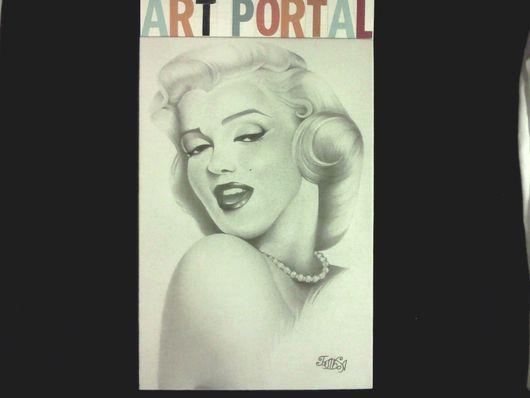 картина`Портрет Мэрилин Монро`