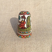 Сувениры и подарки handmade. Livemaster - original item Thimble wood collectible