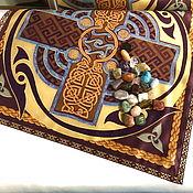 handmade. Livemaster - original item Tablecloth 50h50 cm for esoteric practices. Handmade.