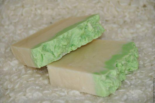 Мыло ручной работы. Ярмарка Мастеров - ручная работа. Купить «Ландыш» натуральное мыло ручной работы. Handmade. Белый
