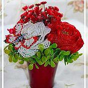 """Цветы и флористика ручной работы. Ярмарка Мастеров - ручная работа Композиция """"Краски осени"""". Handmade."""