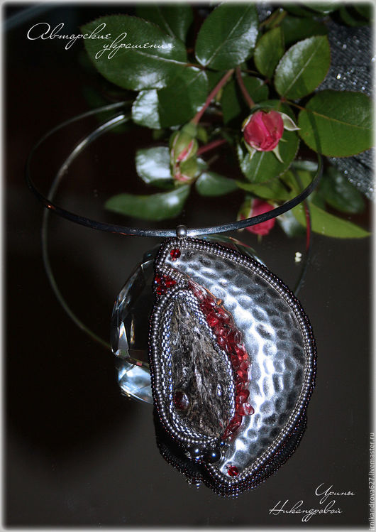 """Кулоны, подвески ручной работы. Ярмарка Мастеров - ручная работа. Купить Кулон """"Другая сторона Луны"""". Handmade. Кулон"""