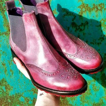 Обувь ручной работы. Ярмарка Мастеров - ручная работа Челси женские. Handmade.