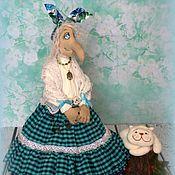 Куклы и игрушки ручной работы. Ярмарка Мастеров - ручная работа Баба Яга - золотые лопотки. Handmade.