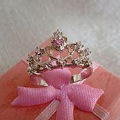 Украшения handmade. Livemaster - original item Ring Crown 3. Handmade.