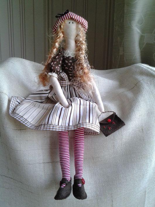 Куклы Тильды ручной работы. Ярмарка Мастеров - ручная работа. Купить Тильда. Handmade. Тильда кукла, кукла с длинными волосами