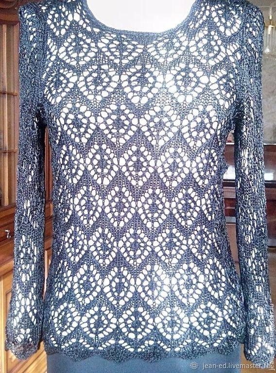 """Ажурная блуза из вискозы """"Вечер"""", Блузки, Ереван,  Фото №1"""