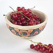 Посуда ручной работы. Ярмарка Мастеров - ручная работа Пиала «Конфетки-бараночки». Handmade.