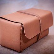 Сумки и аксессуары handmade. Livemaster - original item Case made of genuine leather