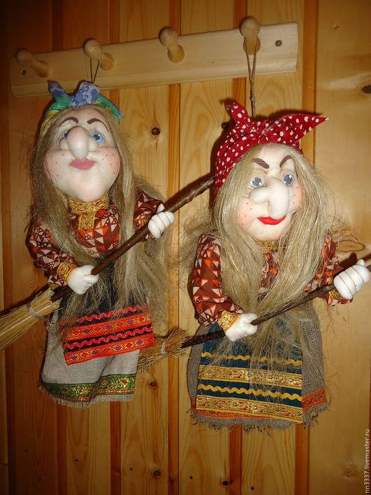"""Сказочные персонажи ручной работы. Ярмарка Мастеров - ручная работа. Купить Кукла-оберег """"Баба-Яга"""". Handmade. Комбинированный, оберег"""