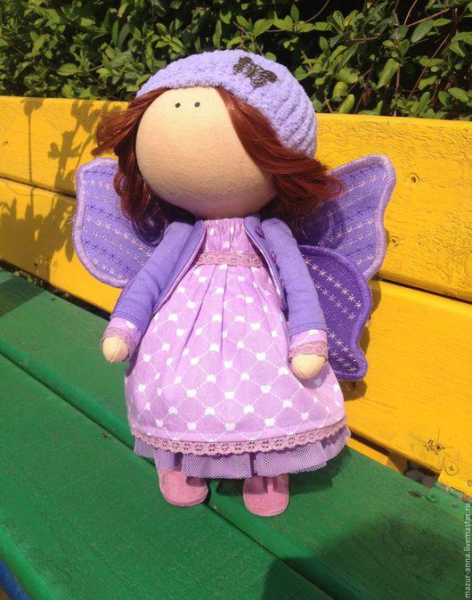 Кукла бабочка, рост 30 см., мастер Анна Мазур