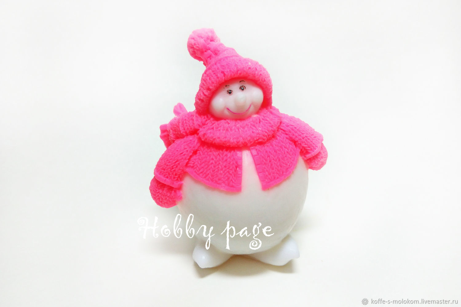 Silicone molds for soap Snowman chubby 3D, Form, Moscow,  Фото №1