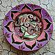 pink Lotus. Plates. TULPAN. Online shopping on My Livemaster.  Фото №2