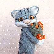 Куклы и игрушки ручной работы. Ярмарка Мастеров - ручная работа Рыбка моя.... Handmade.