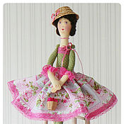 Куклы и игрушки ручной работы. Ярмарка Мастеров - ручная работа Садовые феи. Розоцветы. Handmade.