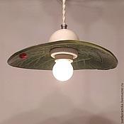 Для дома и интерьера handmade. Livemaster - original item Ceramic lamp on the suspension