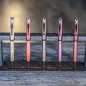 Канцелярские товары ручной работы. Ярмарка Мастеров - ручная работа Шариковая ручка из экзотической породы древесины. Handmade.