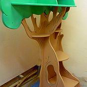 Для дома и интерьера ручной работы. Ярмарка Мастеров - ручная работа Стеллаж-дерево. Handmade.
