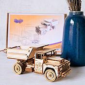handmade. Livemaster - original item Constructor TRUCK dump TRUCK. Handmade.