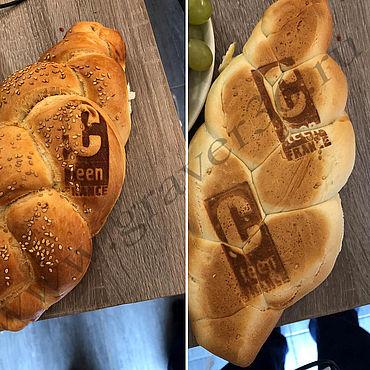 Материалы для творчества ручной работы. Ярмарка Мастеров - ручная работа Штамп на бургер, хлеб, пиццу, лед. Handmade.