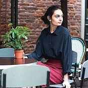 """Одежда ручной работы. Ярмарка Мастеров - ручная работа Шёлковая блузка """"Taurus"""". Handmade."""