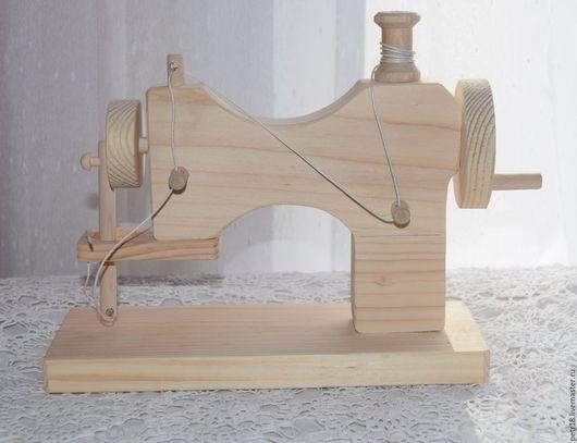 Декупаж и роспись ручной работы. Ярмарка Мастеров - ручная работа. Купить Швейная машинка. Handmade. Белый, интерьерное украшение