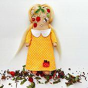 Куклы и игрушки ручной работы. Ярмарка Мастеров - ручная работа Примитивная кукла с ышивкой. Handmade.