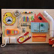 Куклы и игрушки ручной работы. Ярмарка Мастеров - ручная работа Бизиборд №3. Handmade.