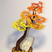 Цветы и флористика handmade. Livemaster - original item bonsai bead. Handmade.