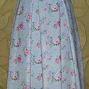 """Одежда ручной работы. Ярмарка Мастеров - ручная работа """"Шебби роза """" юбка лето. Handmade."""