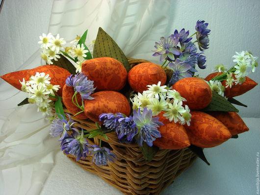 """Куклы Тильды ручной работы. Ярмарка Мастеров - ручная работа. Купить Тюльпаны """"Оранжевое настроение"""". Handmade. Оранжевый, цветы"""