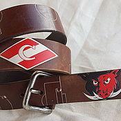 Аксессуары handmade. Livemaster - original item SPARTACUS strap leather. Handmade.