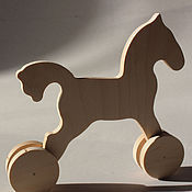 Куклы и игрушки handmade. Livemaster - original item Rocking horse (horse-cart). Handmade.