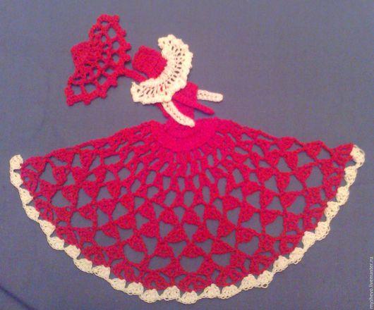 Текстиль, ковры ручной работы. Ярмарка Мастеров - ручная работа. Купить Аппликация на подушку Дама с зонтиком. Handmade. Комбинированный