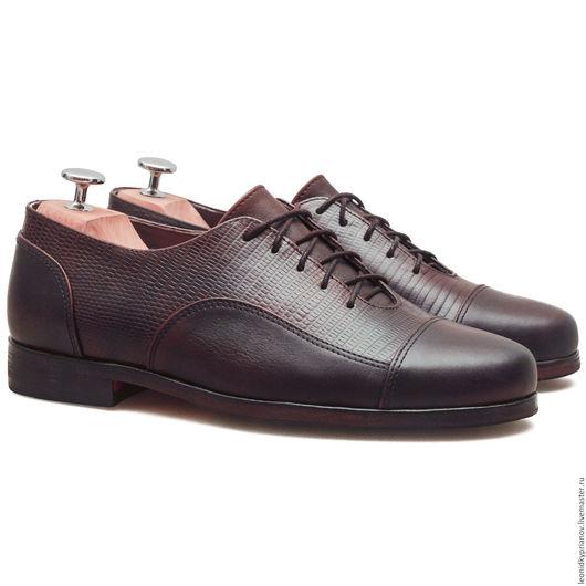 Обувь ручной работы. Ярмарка Мастеров - ручная работа. Купить Модель - Clubs. Handmade. Коричневый, аксессуары ручной работы