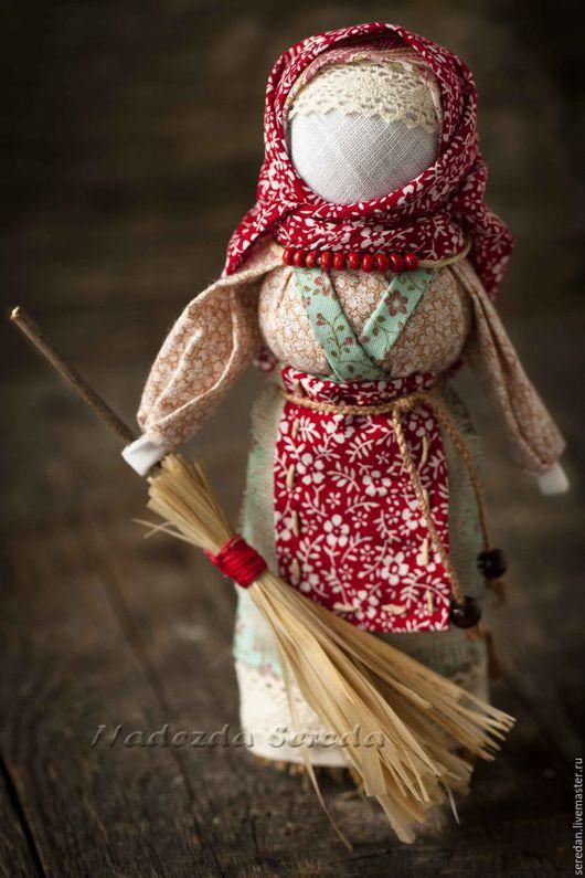 Народные куклы ручной работы. Ярмарка Мастеров - ручная работа. Купить Кукла оберег Метлушка. Handmade. Кукла ручной работы