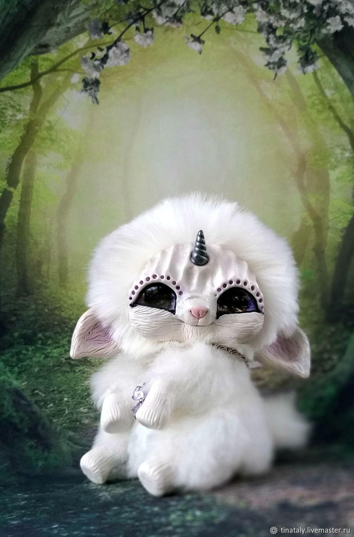 Интерьерная игрушка Белый малыш единорог, Мягкие игрушки, Нижний Тагил,  Фото №1
