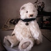 Мишки Тедди ручной работы. Ярмарка Мастеров - ручная работа Тедди мишка Никита. Handmade.
