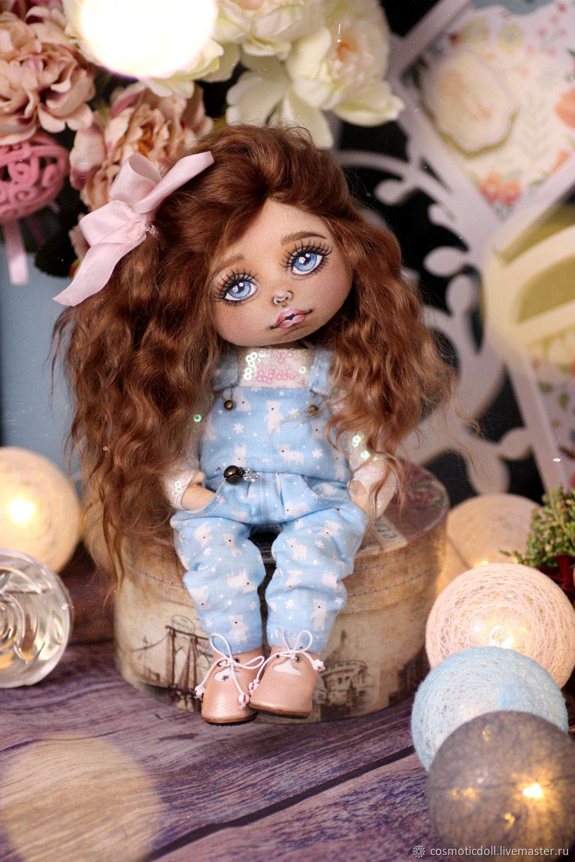 Текстильная кукла. Кукла коллекционная. Кукла, Портретная кукла, Москва,  Фото №1