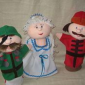 Куклы и игрушки ручной работы. Ярмарка Мастеров - ручная работа кукольный театр. Handmade.